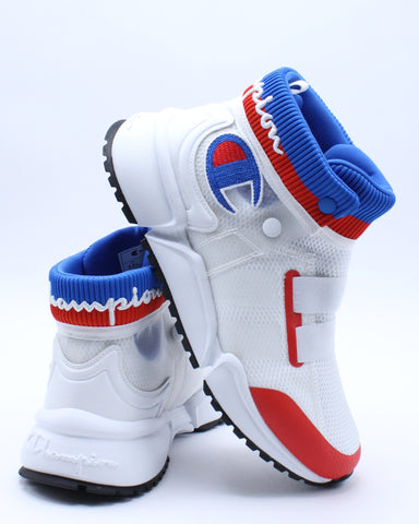 CHAMPION-Men's Rally Future Sneaker - White Blue Red-VIM.COM