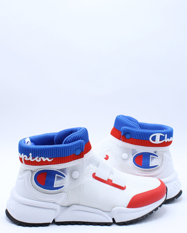 Men's Rally Future Sneaker - White Blue Red