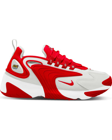 Men's Nike Zoom 2 K Sneaker - White Red