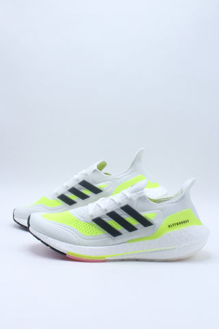 Men's Ultraboost 21 Shoe - White Multi