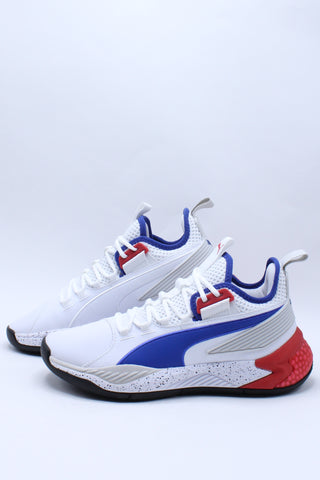 Men's Uproar Hybrid Court PA Shoe - White Blue