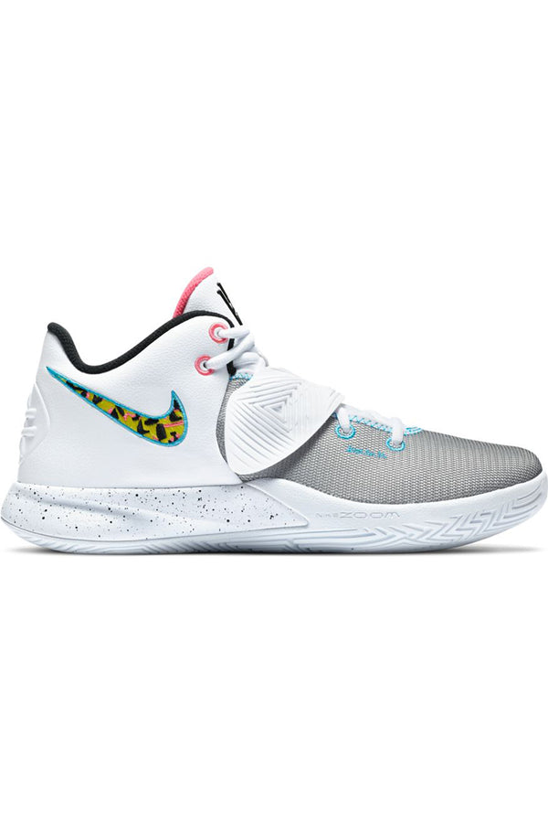 Men's Kyrie Flytrap III Shoe - White Yellow