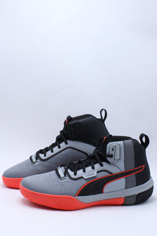 Men's Legacy Disrupt Shoe - Grey Red
