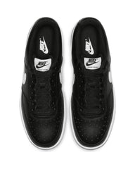 Men's Nike Court Vision Low Sneaker - Black White