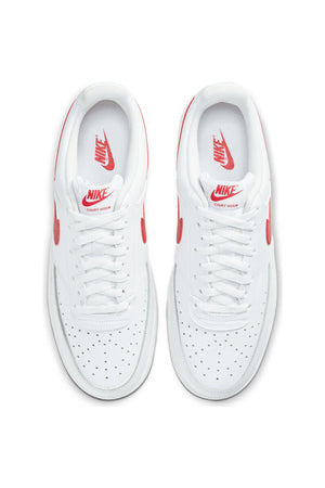 Men's Court Vision Low Shoe - White Red