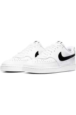 Men's Court Vision Mens Shoe - White Black