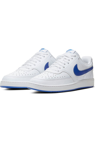 Men's Court Vision Mens Shoe - White Royal
