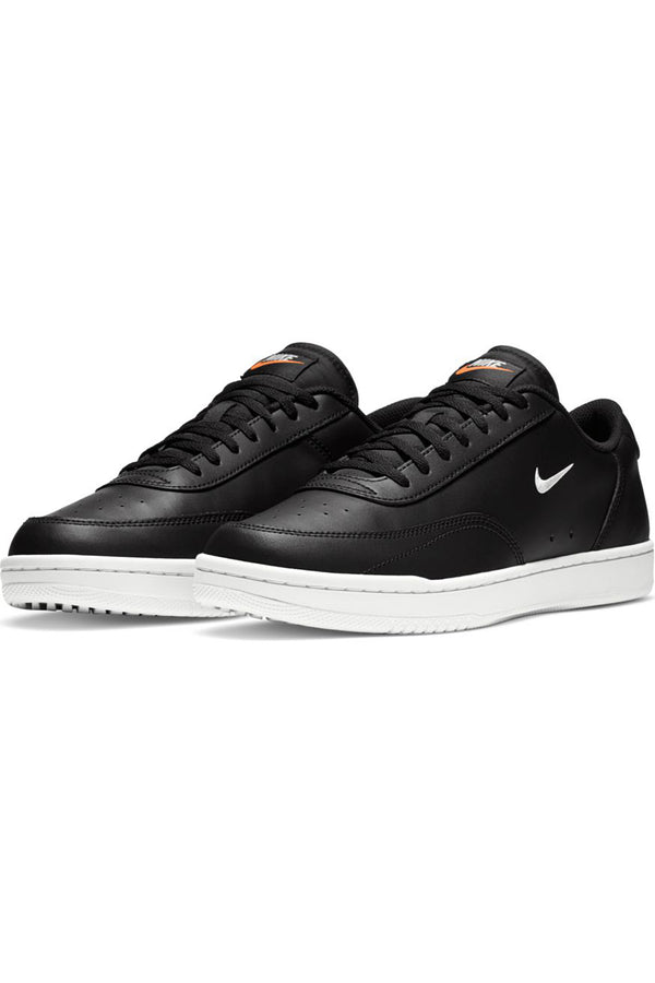 NIKE-Men's Court Vision Shoe - Black White-VIM.COM