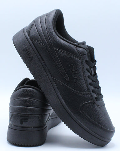 FILA-Men's A Low Sneaker - Black-VIM.COM
