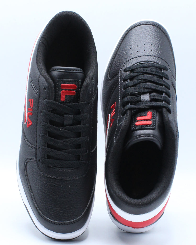 Mens A Low Sneaker - Black Red