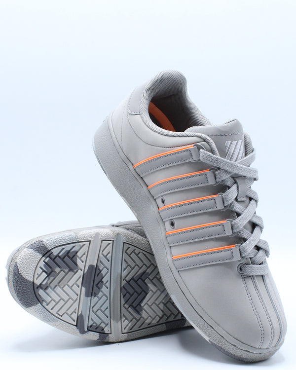 Men's Classic Vn Sneaker - Grey Orange
