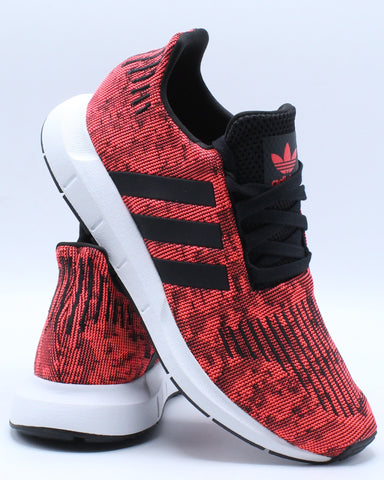 ADIDAS-Men's Swift Run Sneaker - Red White-VIM.COM