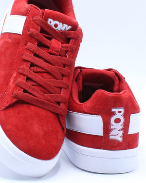 Men's Classic Low Suede Sneaker - Red