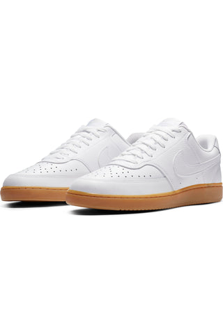 Men's Court Vision Low Shoe - White Gum