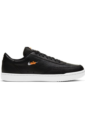 Men's Court Vintage Premium Sneaker - Black White