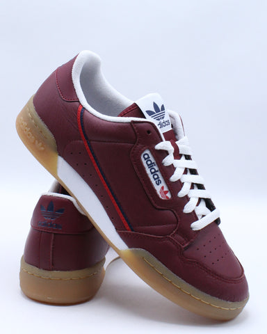 Men's Continental 80 Sneaker - Burgundy