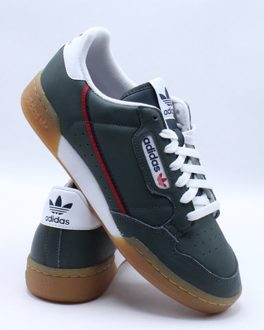 Men's Continental 80 Sneaker - Green Red