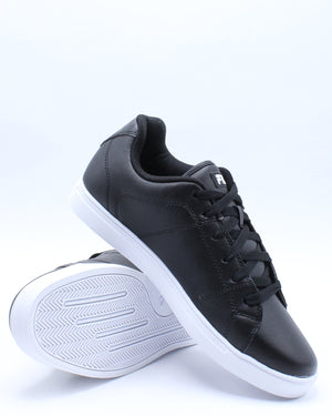 Men's Charleston Sneaker - Black White