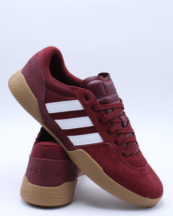 City Cup Sneaker - Burgundy White