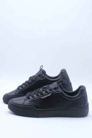 Men's Leather 521 Low Top Sneaker - Black
