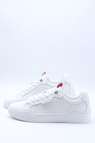 Men's Leather 521 Low Top Sneaker - White