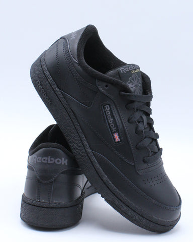 REEBOK-Men's Club Classic Sneaker - Black-VIM.COM