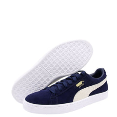 Puma Men'S Suede Classic + Low Sneakers - Navy - Vim.com