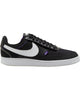 Men's Nike Court Vision Low Premium Sneaker - Black White