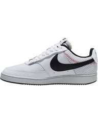 Men's Nike Court Cision Low Premium Sneaker - White Black Red