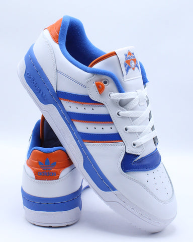 Men's Rivalry Sneaker - White Blue Orange