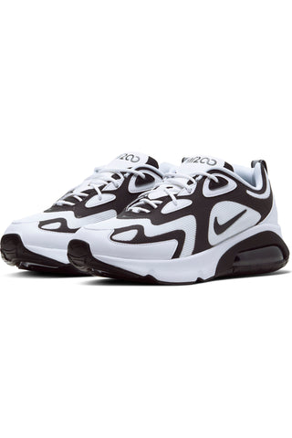 Men's Air Max 200 Mes Shoe - White Black