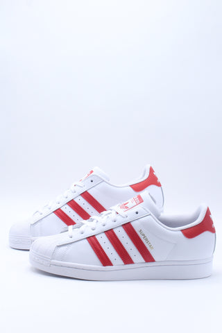 Men's Superstar Sneaker - White Red