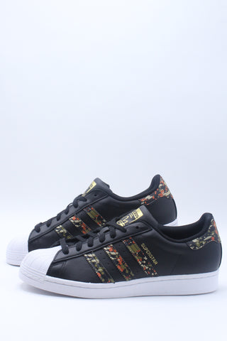 Men's Superstar Sneaker - Black Multi
