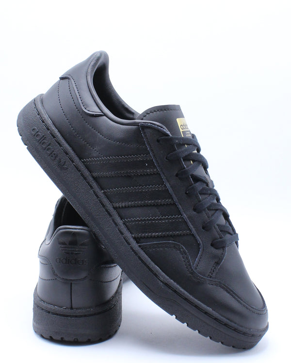 ADIDAS-Men's Team Court Sneaker - Black-VIM.COM