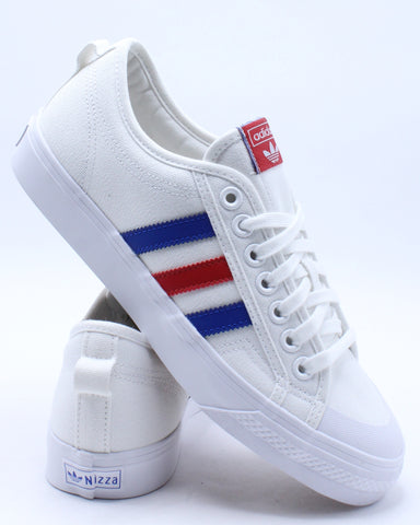 Men's Nizza Sneaker - White Scarlet