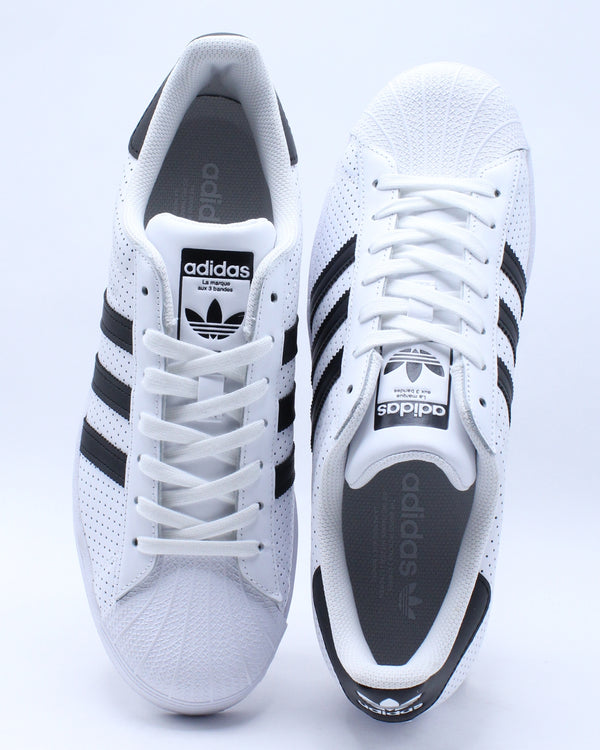 Men's Superstar Sneaker - Black White