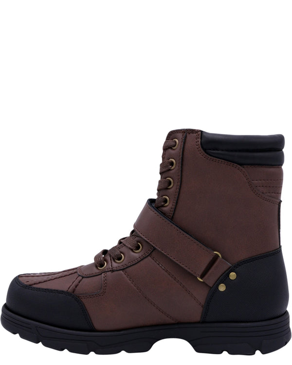 BEVERLY HILLS POLO CLUB Men'S Ranger Hi Boots - Brown - Vim.com