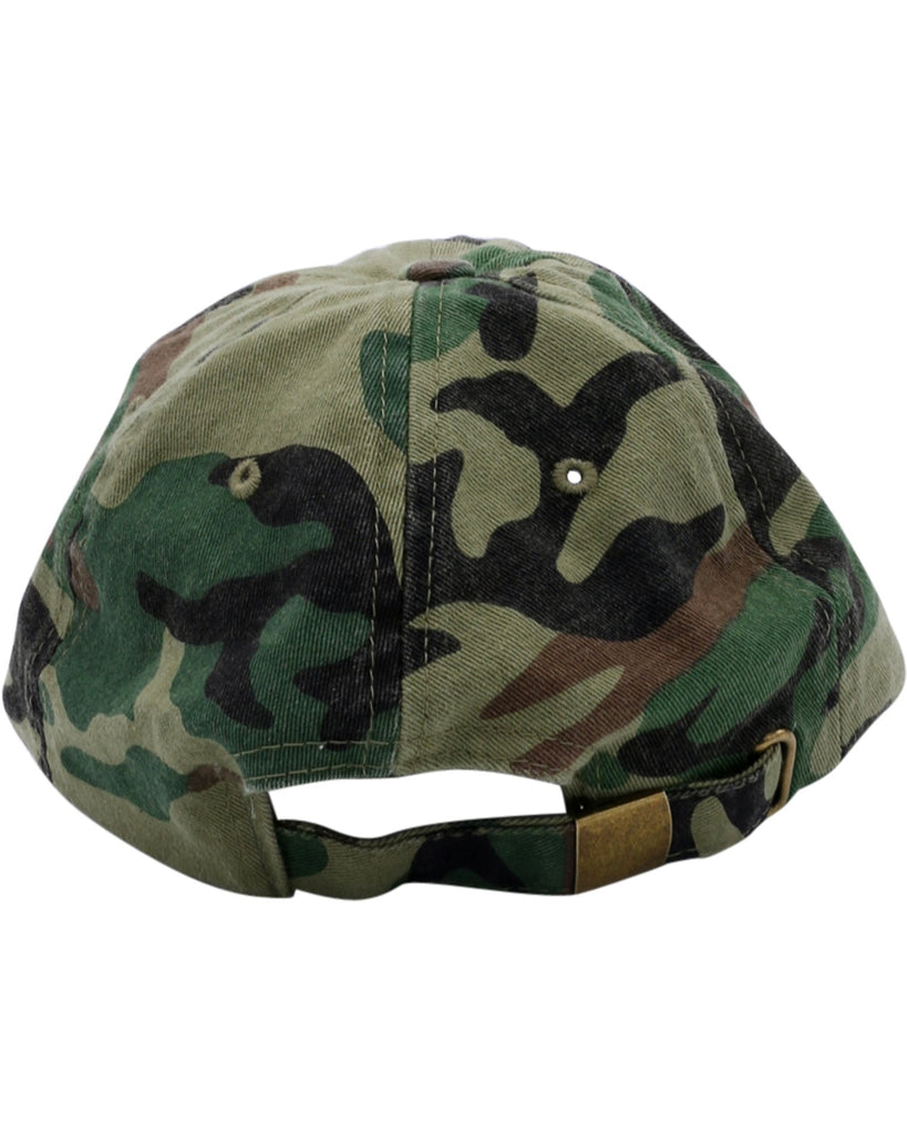 Supply Smiling Face Dad Hat - Camo - Vim.com