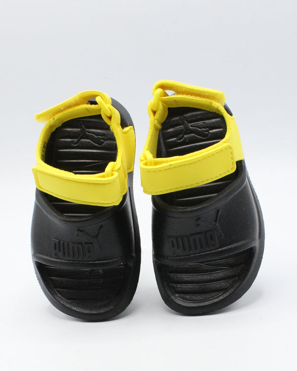 PUMA Divecat V2 Injex Sandal (Infant/Toddler) - Black - Vim.com