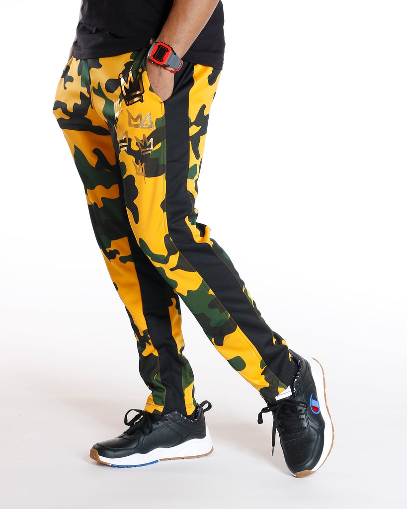 VIM Camo King Crown Jogger - Black - Vim.com