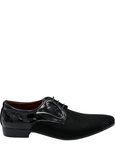 Men's Lace Up Print Shoe