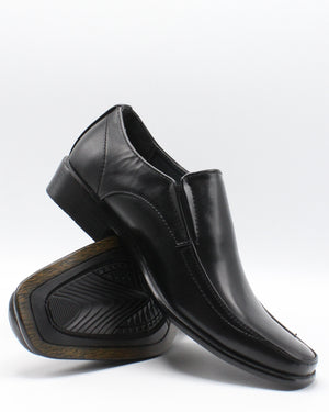 VIM Men'S Slip On Dress Boot - Black - Vim.com