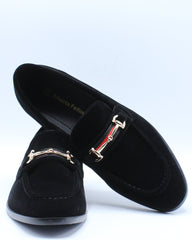 Mens Buckle Shoe - Black