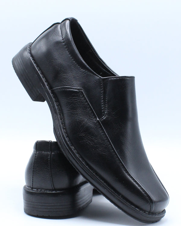 Men's Slip On Loafer - Black-VIM.COM