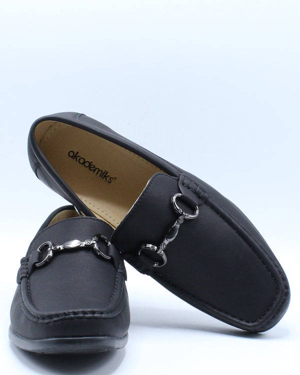Men's Bit Loafer Shoe - Black