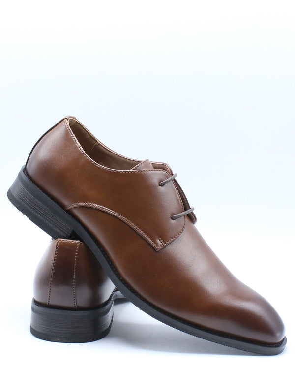Men's Dress Lace Shoe - Brown
