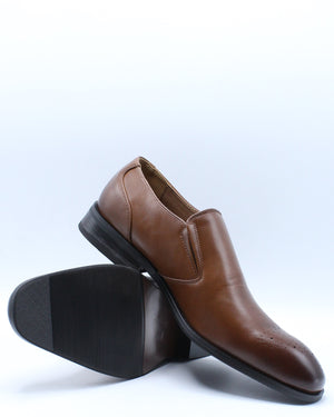 Men's Slip On Dress Shoe - Brown