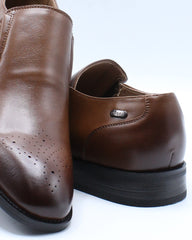 Mens Slip On Dress Shoe - Brown