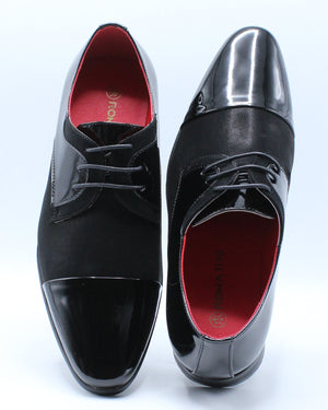 Men's Lace Up Dress Shoe - Black