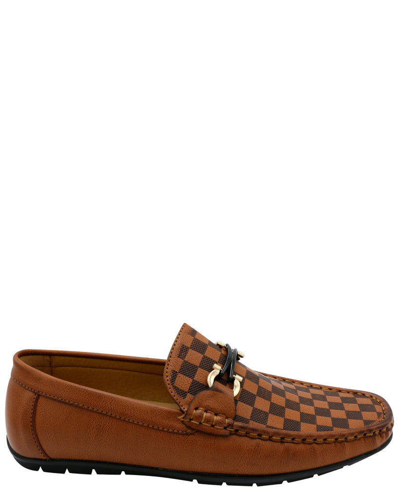 Men's Checker Print Shoe